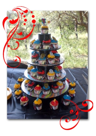 Lego Cake Topper Stand